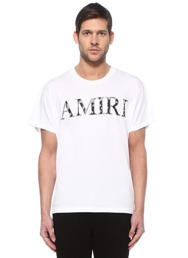 Amiri Polo Yaka T-shirt Beyaz